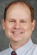 Dr. Warner Cribb, geosciences professor