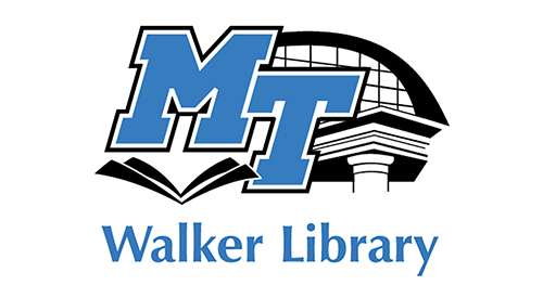 logo for MTSU's James E. Walker Library