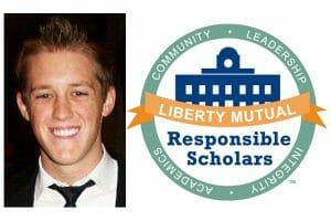 Kurt Gadke and Liberty Mutual Responsible Scholars promo
