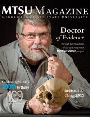 mtsu magazine spring 2011 cover
