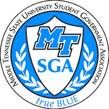 MTSU SGA logo