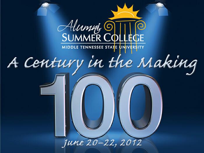 2012 Alumni Summer College graphic