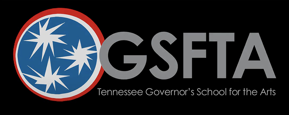 Tennessee Governor's School for the Arts banner logo