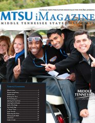 "Click on the cover above to download the iPad-only version of ""MTSU Magazine""!"