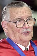 Dr. James M. Buchanan (from 2000 MTSU graduation ceremony)