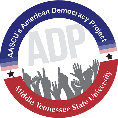 MTSU American Democracy Project logo