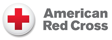 Red Cross button logo