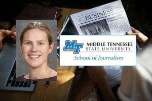 Dr. Katie Foss, 2012 James W. Carey Media Research Award