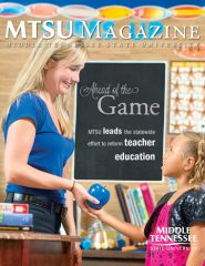 Click on the image to view an electronic version of MTSU Magazine.