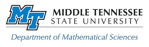 Department of Mathematical Sciences logo