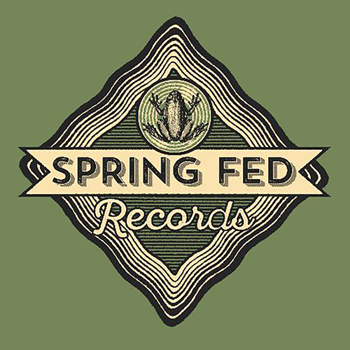Spring Fed Records label logo; MTSU Center for Popular Music