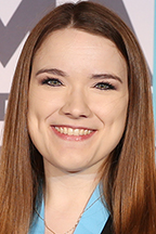 MTSU School of Music alumna Anna Laura Williams of Murfreesboro, co-director of bands at Siegel Middle School, is one of the 2019 CMA Foundation Music Teachers of Excellence, recognized April 30 at Nashville's Marathon Music Works. (Photo courtesy of the Country Music Association)