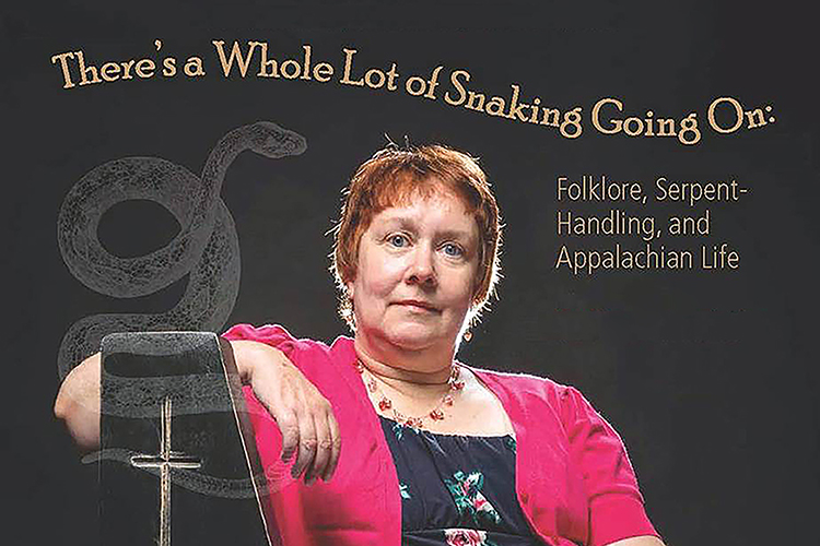 poster for Nov. 20 lecture by MTSU English professor and folklorist Patricia Gaitely