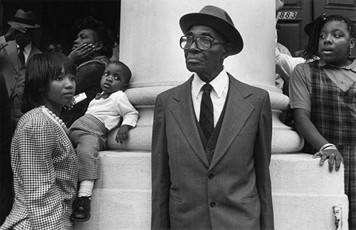 Photographer Harvey Stein will bring this photo and more to MTSU's Baldwin Photographic Gallery for his