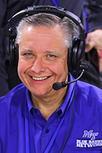 Chip Walters, voice of the Blue Raiders