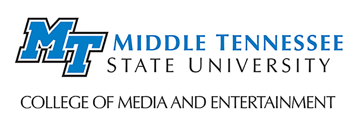 College of Media and Entertainment logo