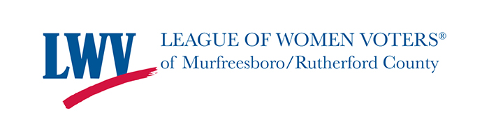 League of Women Voters of Murfreesboro and Rutherford County logo