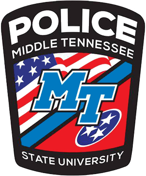 MTSU Police Department's new logo