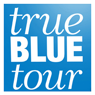 True Blue Tour logo