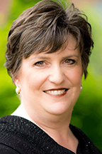 Angela TIpps, an instructor in MTSU's School of Music who conducts the MTSU Women's and Men's Chorales