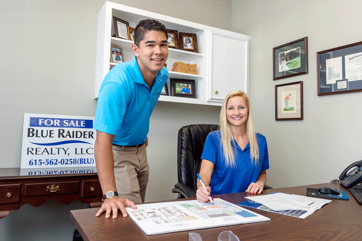 MTSU Magazine On Solid Ground Blue Raider Realty