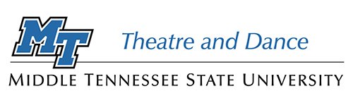 MTSU Theatre and Dance logo