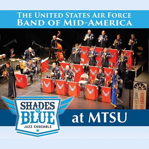 Air Force's 'Shades of Blue' brings free jazz concert to MTSU this