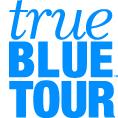 True Blue Tour logo