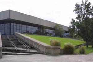 Exterior of Murphy Center