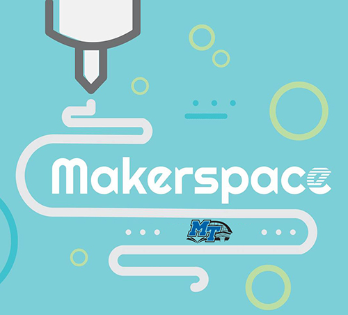 Walker Library Makerspace logo