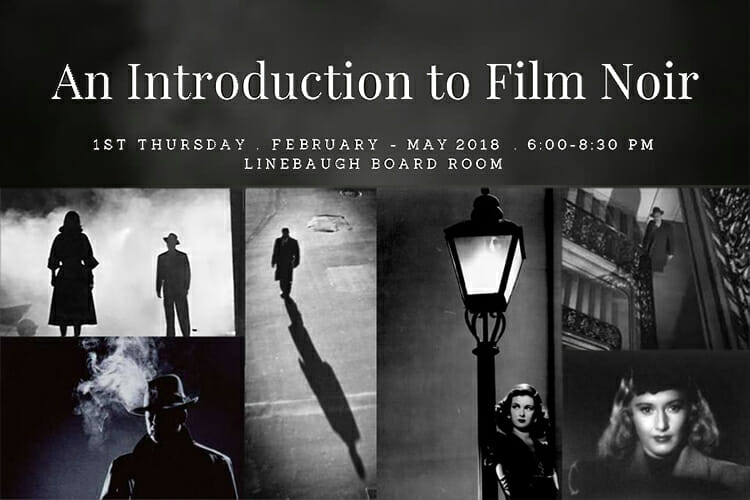 Helford film noir lectures promo