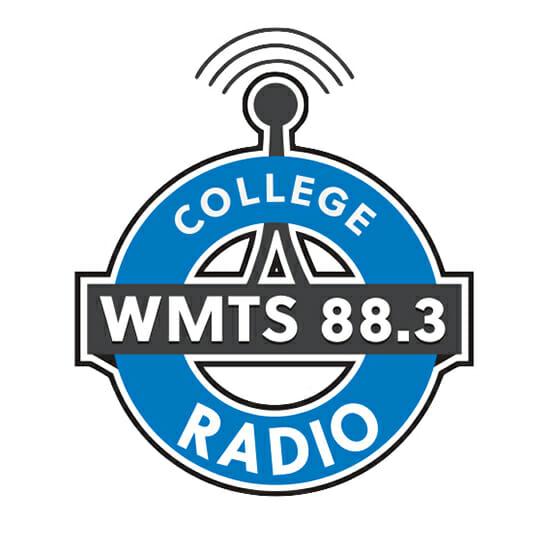 WMTS 88.3 FM College Radio logo