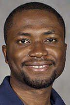 Dr. Samuel Haruna, assistant professor in the School of Agriscience and Agribusiness