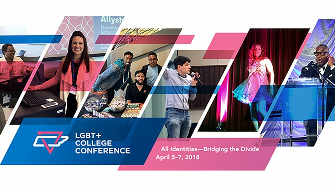 2018 LGBT+ conference promo
