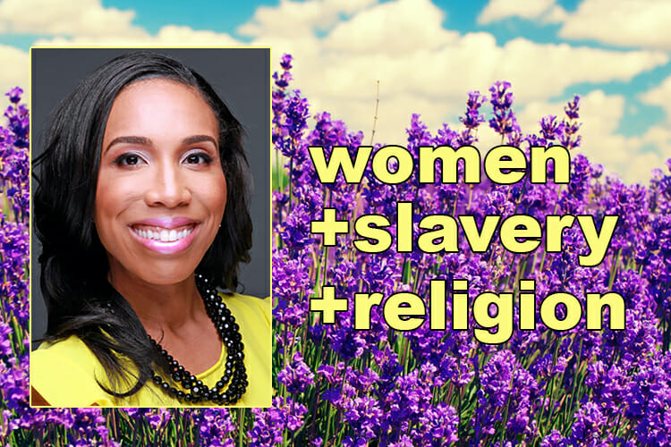 "promo for ""Female Captive to Negro Wench: Slavery in Religious and Gendered Perspective"" lecture by Dr. Alexis Wells-Oghoghomeh of Vanderbilt"