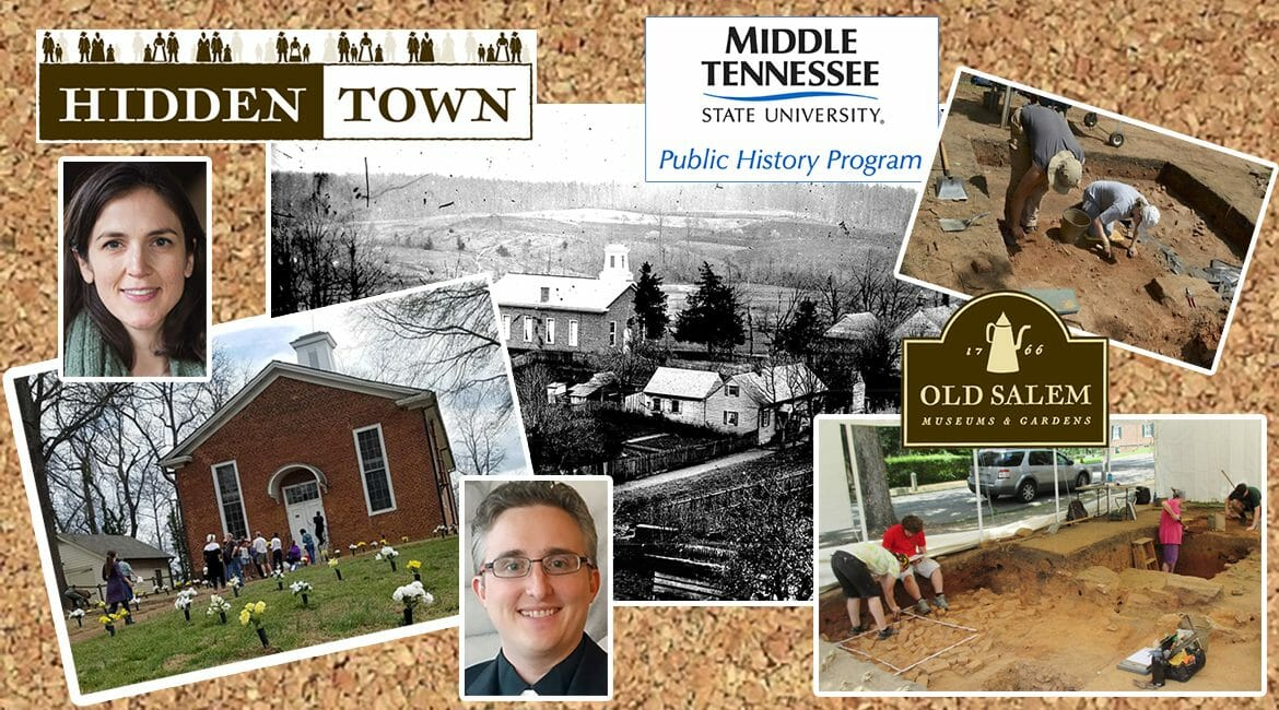 promo on MTSU public history and animation students' work with North Carolina's historic Moravian village, Old Salem, on a 3D virtual museum