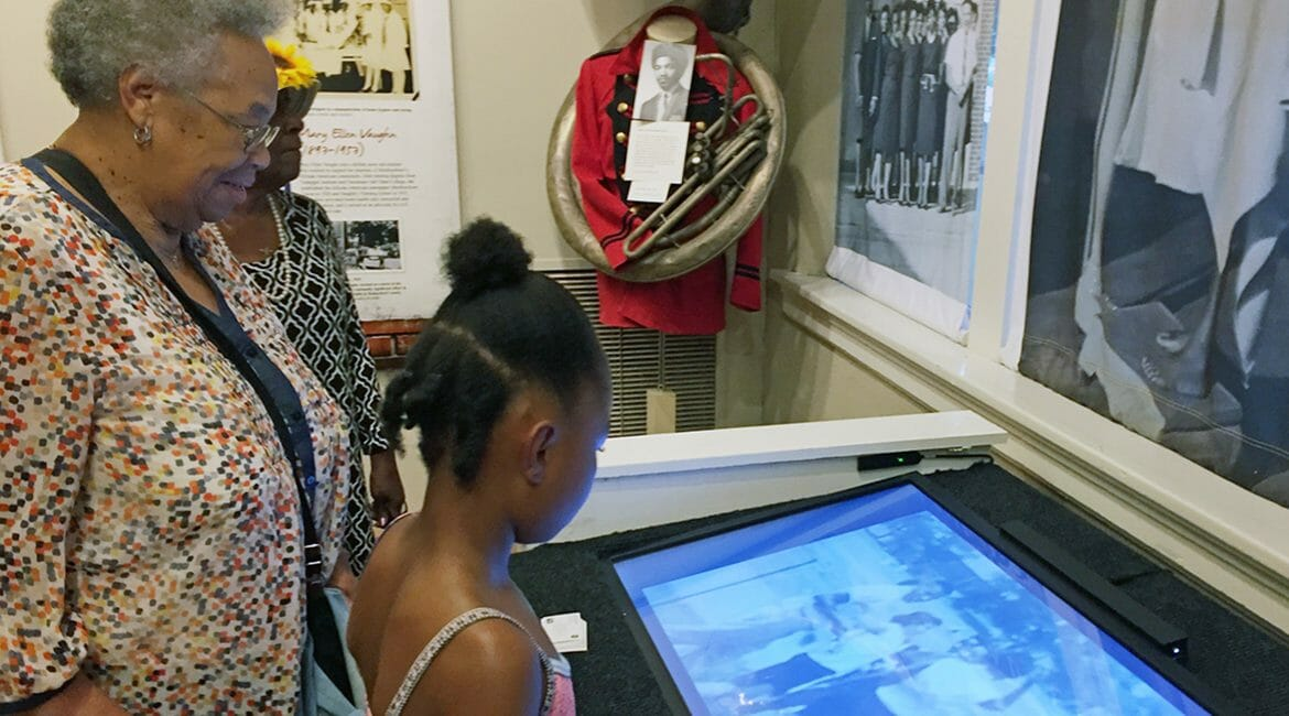 """Members of the public get a sneak peek at the """"Education and Empowerment: African-American Schools in Rutherford County"""