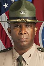 Tennessee Highway Patrol Col. Dereck Stewart, MTSU alumnus