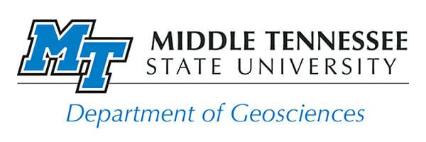 Department of Geosciences logo