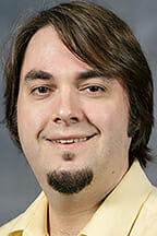 Dr. Jeremy Aber, assistant professor, geosciences