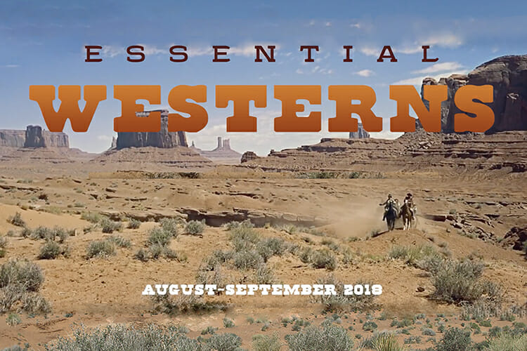 Essential Westerns film series 2018 promo