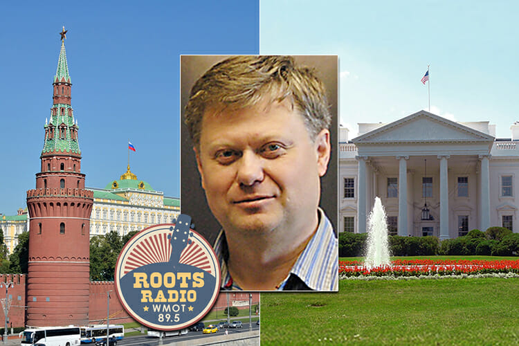 """promo for """"MTSU On the Record"""" convo with Dr. Andrei Korobkov about the summer 2018 Putin-Trump summit in Helsinki"""