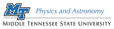 Department of Physics and Astronomy logo