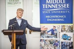 MTSU celebrates mechatronics engineering accreditation