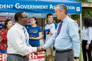 Secretary of State Hargett visits MTSU to support student voter registration drive [+VIDEO]