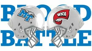 'Here's your opportunity,' MTSU: Donate blood Oct. 29-31 to save lives, 'Bleed Blue, Beat WKU' [+ VIDEO]