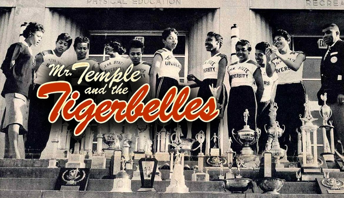 Members of the 1959-60 Tigerbelles from Tennessee State University, then called