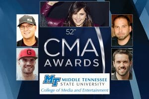 Alumni, former students help keep MTSU in spotlight again at 2018 CMA Awards