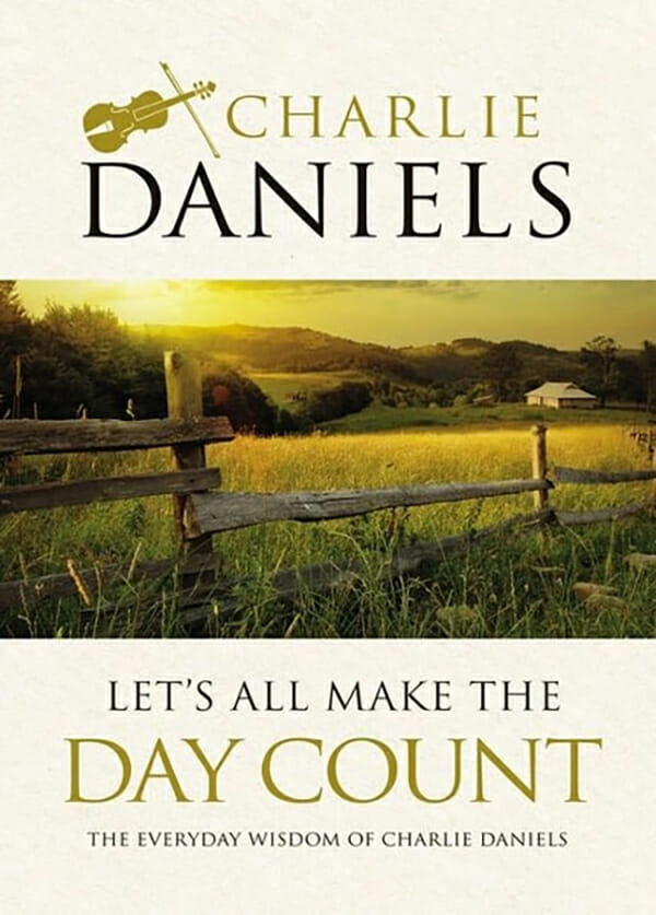 The front cover of Charlie Daniels' new book.