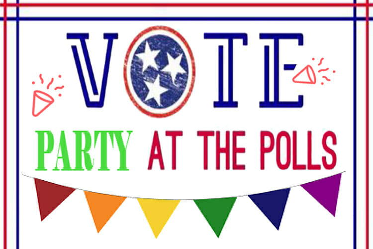 Party at the Polls 2018 promo
